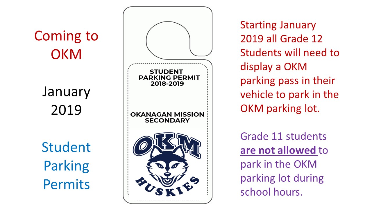 Student Parking Permits