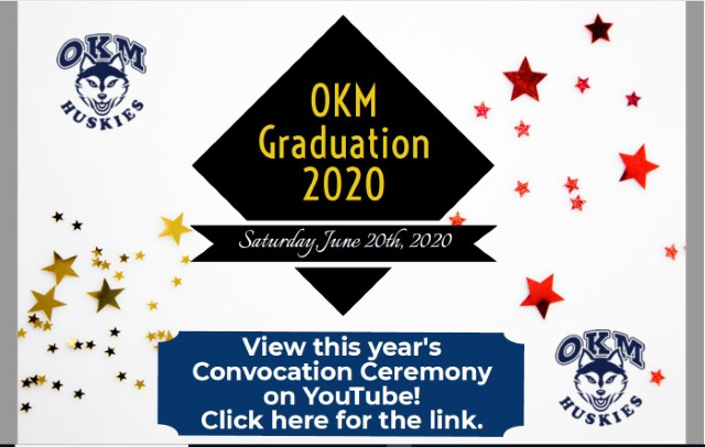 "<div class=""ExternalClass760D01740C504483B762112C88CC8436""><p>​View this year's Convocation Ceremony on YouTube!<br></p><p><br></p></div>"