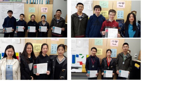 Results from the Math Challengers Competition at OC